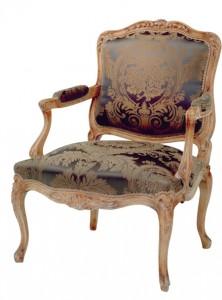 Taillardat crée aussi bien du fauteuil Louis XVIII ou régence que du canapé style Empire
