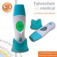Le thermomètre médical 5 en 1 de Fahrenheit – Robé médical